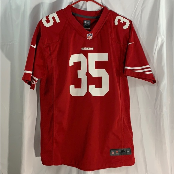 sports shoes a366f 36b0c 49ers NFL XL Youth jersey, ERIC REID #35